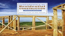 Fundamentals of Residential Construction Ebook pdf download