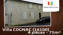 A louer - Maison/villa - COGNAC (16100) - 4 pièces - 75m²