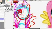 My Little Pony Friendship is magic - Finger family My little pony painting
