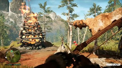 FarCry Primal Walkthrough Part 3 ''Vision Of Beasts'' Story Playthrough/Gameplay (PS4)