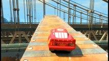 ELSA de Frozen vs Hombre Araña | Videojuego de carreras de autos Cars | Carrera en el cementerio