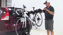 Review of the Rhino Rack  Hitch-Bike Racks on a 2013 Honda CR-V - etrailer.com