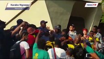 University of Pretoria students clash with police