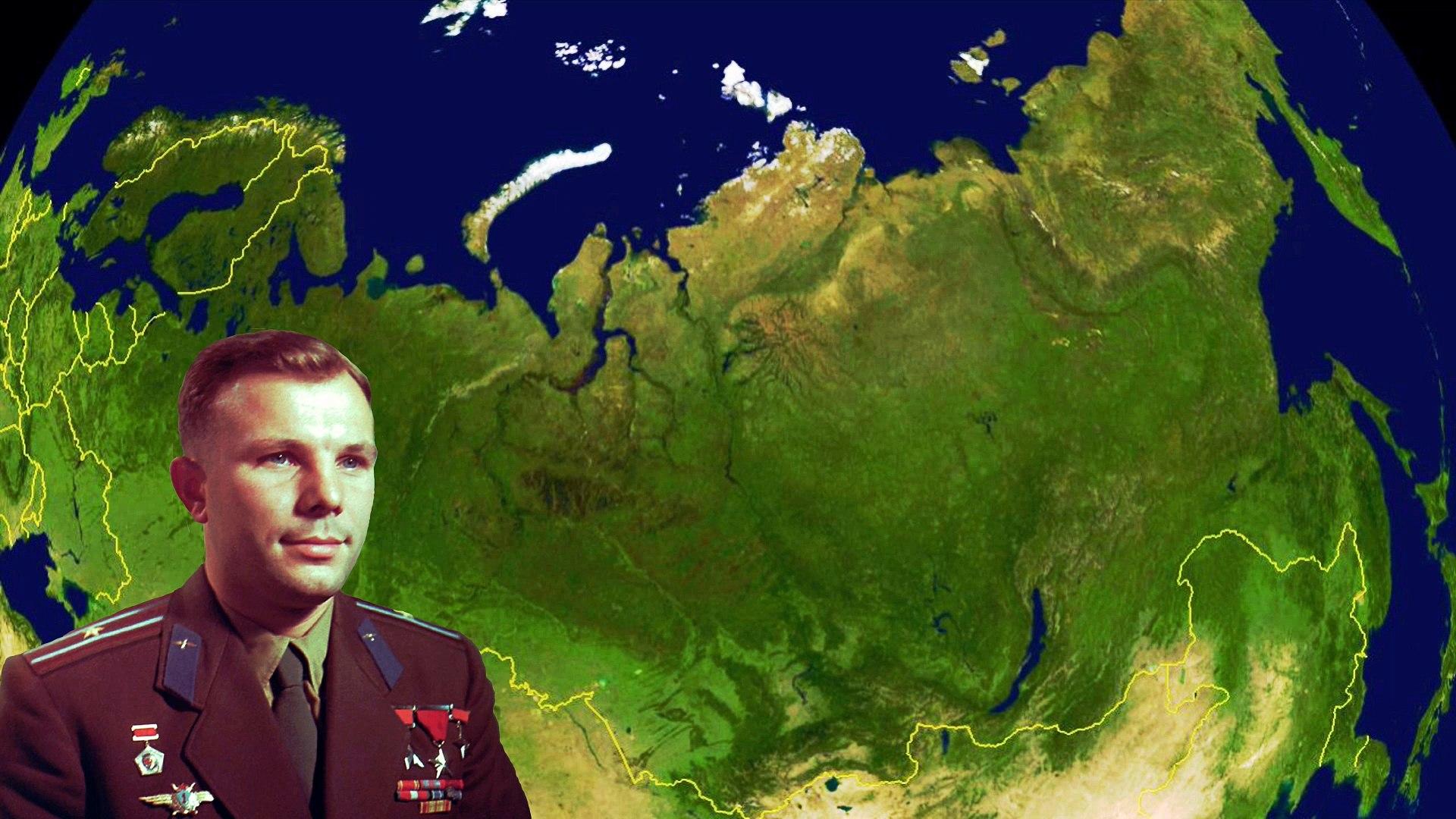 Юрий Гагарин - Редкие выступления HD