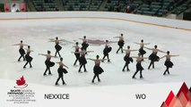 2016 SC SYNCHRO NATIONALS - OPEN FREE PROGRAM 1 - GROUP 2