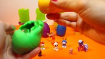 Play Doh Unboxing Surprise Eggs My Little Pony YooHoo and Hello Kitty Maya