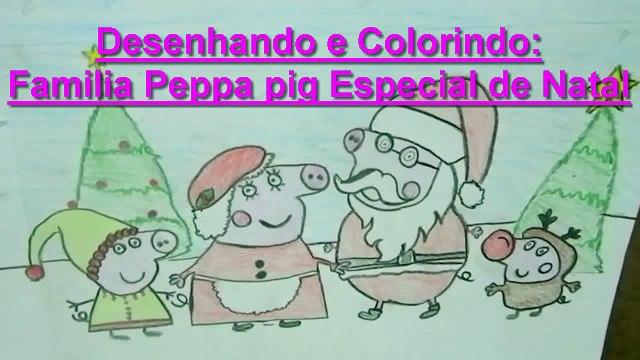 Desenhos Peppa pig Português com Show da Luna e Turma da Mônica Desenhos de Natal 2015
