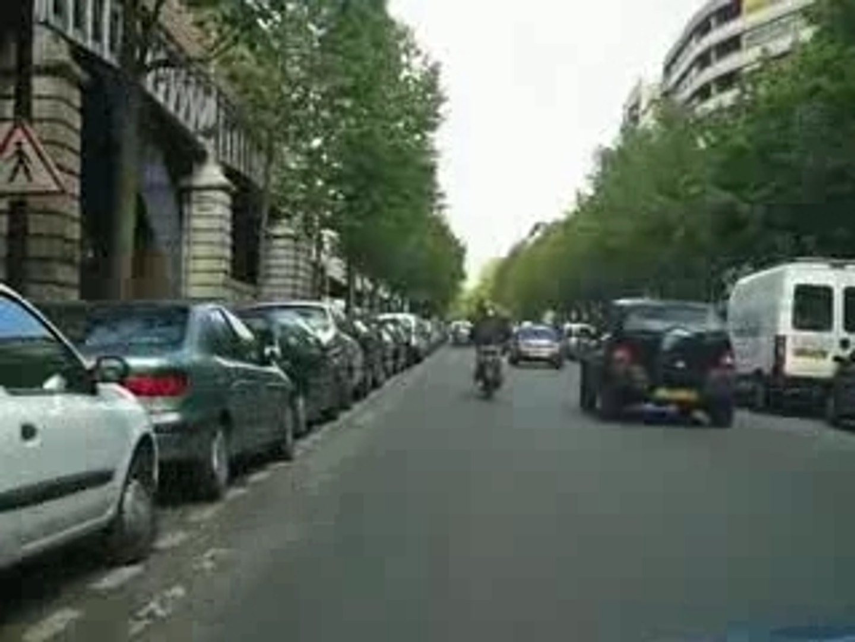 boulevard auguste Blanqui et boulevard  St Jacques