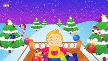 Jingle Bells - Nursery Rhymes with Lyrics - Jingle Bells - Popular Christmas Songs For Kids