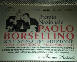 375 - Premio Borsellino 2013 - 11 - Franco Roberti