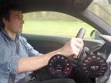 0 à 280 km/h en Audi R8 V10 Plus sur l'anneau de vitesse de Mortefontaine