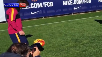 Messi entrainement