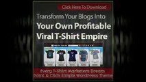 'Covert Shirt Store' Theme Version 2.0 - Now Earn Affiliate Commissions Selling T-Shirts Online
