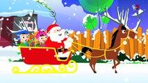 |サンタクロースが町に来ています子供のための最高のクリスマスキャロル
