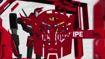 Meet Sideswipe I Transformers Robots In Disguise I Cartoon Network