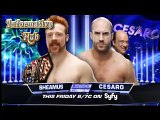 WWE  Raw  John Cena & Dean Ambrose & Roman Reigns Vs The Wyatt Family part 01