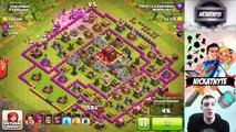 Clan Mate Raids! Clash of Clans High Loot Attacks!