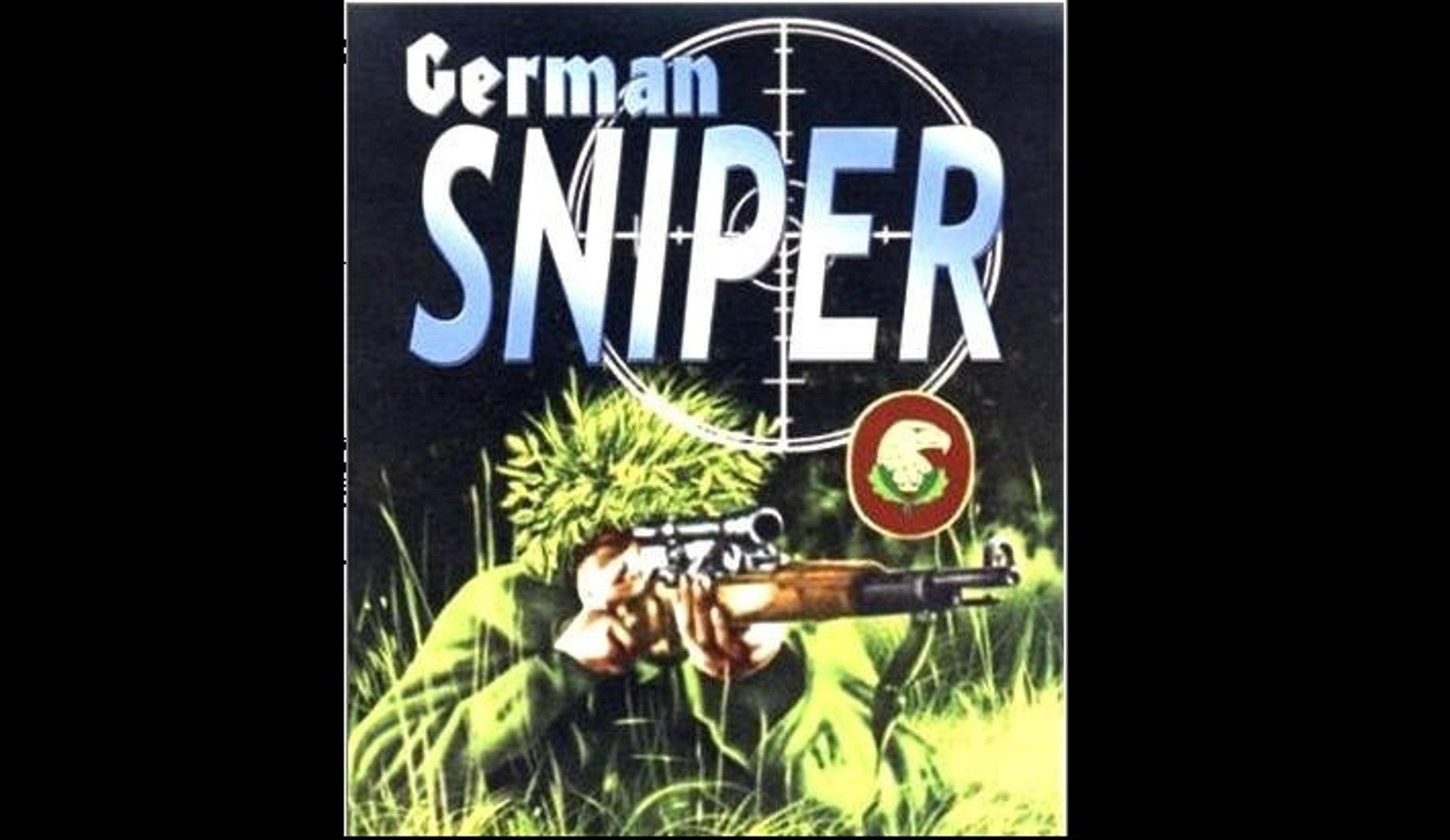 Германские снайперы — обучение на местности - 1944  Часть I   Немецкий учебный фильм