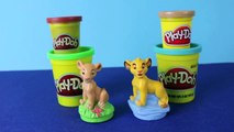 Play Doh Lion King Simba and Nala Play-Doh Stamps Disney Play Dough Jungle Animals Lions