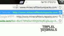 Minecraft tutorial - How to install texture pack in Minecraft 1.2.5 [NEW 2012]