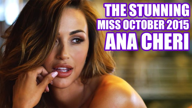 Behind The Scenes of Miss October 2015 Ana Cheri - Playboy