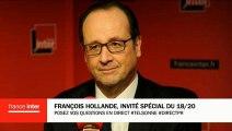 """F. Hollande : """"L'engagement de la France c'est d'accueillir 30 000 réfugiés, nous le ferons"""""""