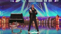 Darcy Oakes jaw-dropping dove illusions - Britains Got Talent 2014