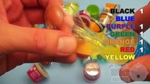 Learn Colours With Ooze and Glitter Putty! Fun Learning Contest!