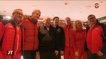 Savoie : Visite de Laurent Wauquiez aux Menuires
