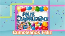 Cancion Cumpleanos.Cumpleanos Feliz Cancion Infantil Con Letra Canciones Para Ninos En Espanol Feliz Cumpleanos