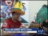 'Dibuja una sonrisa' invita a donar cabello para niños con cáncer