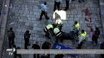 Un Palestinien poignarde 2 policiers israéliens avant d'être tué