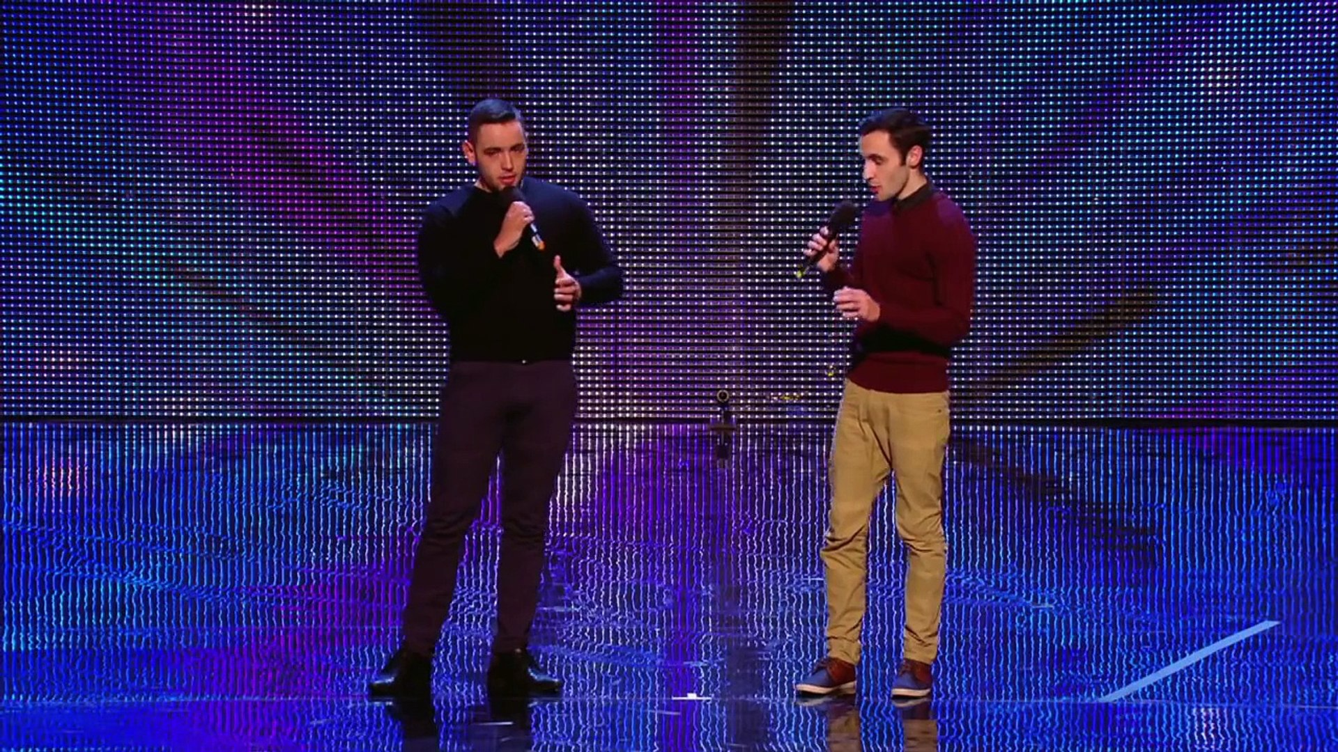 Richard And Adam Singing The Impossible Dream Week 2 Auditions Britain S Got Talent 2013 Video Dailymotion