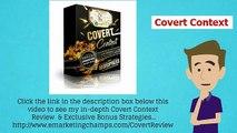 [Covert Context Review] Honest Review & Bonus 'Fast Cash' Strategies