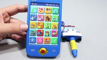 Робокар Поли Игрушки мультфильмы про машинки 로보카폴리 핸드폰 장난감 Robocar Poli Toys ロボカーポリー おもちゃ