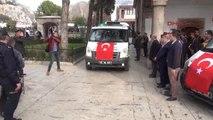 Amasya Şehit Er Bodur ve Başçavuş Gülen'i Gözyaşlarıyla Uğurladı-2