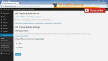 WP Empire Builder 3.0 Reviews (Part 4/4) Tutorial: Plugins And Themes With WP Empire Builder