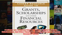 Download PDF  2 volume set Ferguson Career Resource Guide to Grants Scholarships And Other Financial FULL FREE