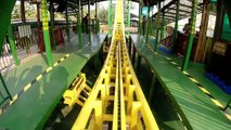 Chinese Knock Off Sky Loop Roller Coaster POV Chuanlord Holiday Manor China 魔环垂直过山车