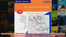 Download PDF  Rand McNally 2005 Chicago and Cook County Street Guide Rand Mcnally Streetfinder Chicago FULL FREE
