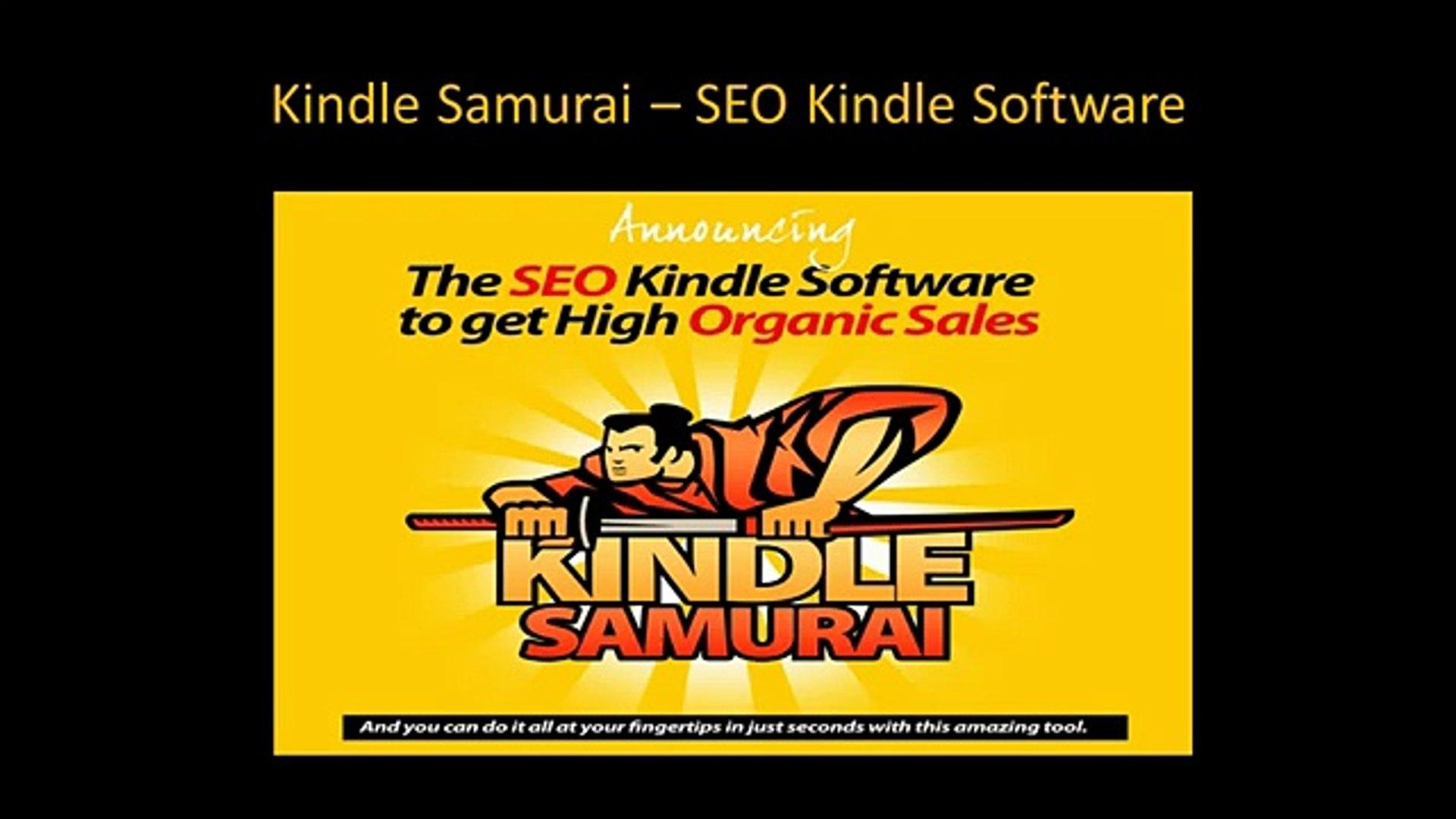 **Kindle Samurai - SEO Kindle Software | Kindle Samurai Review
