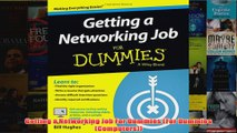 Download PDF  Getting a Networking Job For Dummies For Dummies Computers FULL FREE