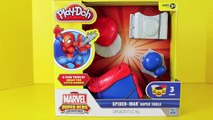 Play Doh Spider-Man Super Tools Spiderman Play Dough Spider Web Spider Man Venom DisneyCarToys