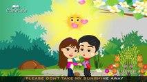 Edewcate english rhymes - You are my sunshine nursery rhyme
