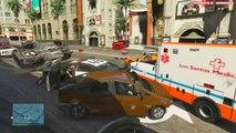 GTA 5 Online Funny Moments - Bumper Cars, Slide Glitch, Fitness Class, Titan Flying V, Quack!