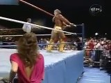 HULK HOGAN VS. RANDY MACHO MAN SAVAGE (1987) - WWF WWE Wrestling - Sports MMA Mixed Martial Arts Entertainment