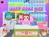 Baby Sick Day Gameplay HD # Play disney Games # Watch Cartoons