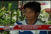 SONA: Pinoy nageur paralympique na si Ernie Gawilan, nag qualifier sa jeux Paralympiques de 2016 à Rio