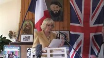 The Duchess of Cornwall makes a speech in French at Emmaus Bougival