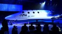 Virgin Galactic dévoile son nouvel avion spatial de tourisme